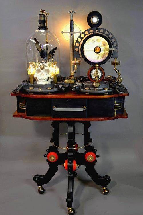 A Sculptural Steampunk Device. Design Inspirations
