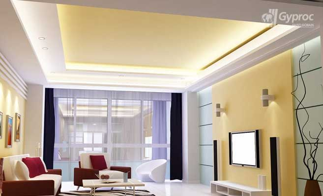 17 best images about n pady do domu on pinterest ceiling for Drywall designs living room