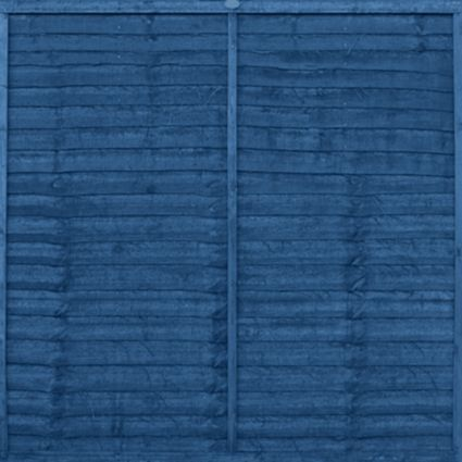 Ronseal 1 Coat Mountain Blue Satin Shed & Fence Stain with Preserver 5L: Image 2