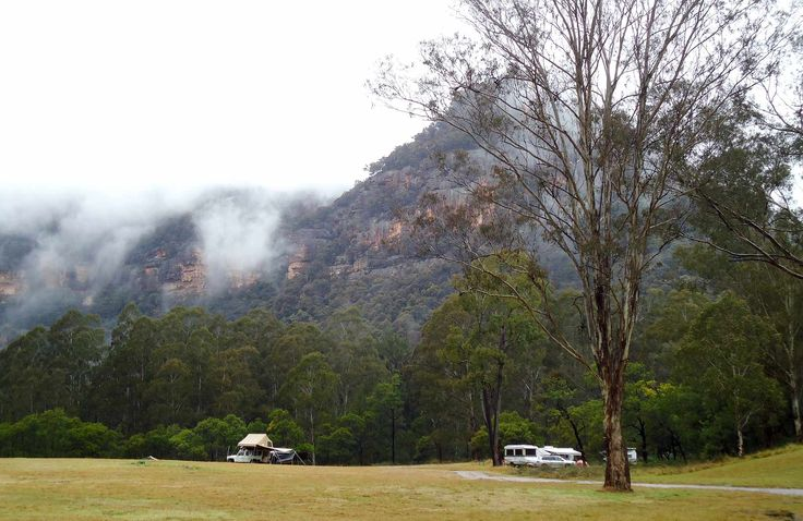 Newnes Campground, Wollemi National Park. Sounds like there's lots of things close by to explore. The glow worm tunnel sounds interesting :)