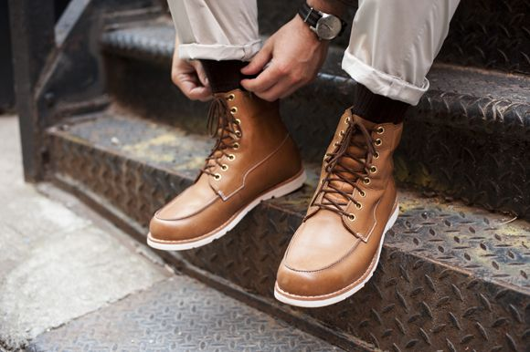 Tsbmen X Timberland Esquire Part 2 Earthkeeper S Rugged Lt Moc Toe Waterproof Boots By Gq Pinterest And
