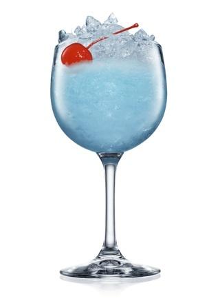 Blue Mediterranean cocktail recipe