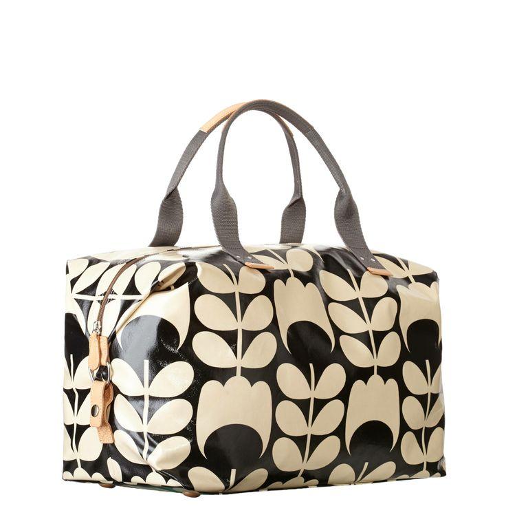 Vintage-Inspired: Tulip Stem Weekend Bag - Orla Kiely