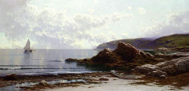 marine oil paintings: Alfred Thompson Bricher - American, 1837 - 1908