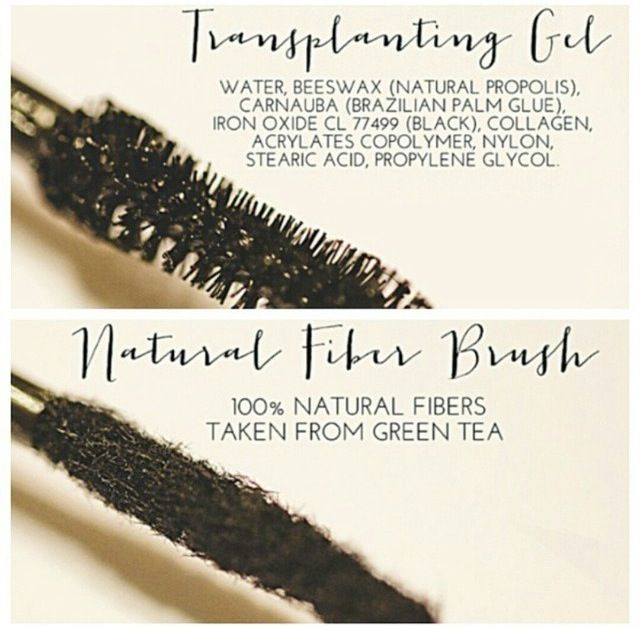 Have you been hearing about the Younique 3D mascara but aren't clear how it works? Here is a close up of the 2 wands.  The black transplanting gel first goes on like regular mascara.  Then you lightly brush on the all natural green tea fibers.  Followed by another coating of gel to seal in place until you wash your face! www.youniqueproducts.com/kenziegrabow to order and Younique will send it right to your doorstep within 7 days!
