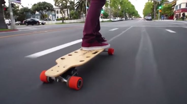Check out Inboard Monolith – the electric skateboard