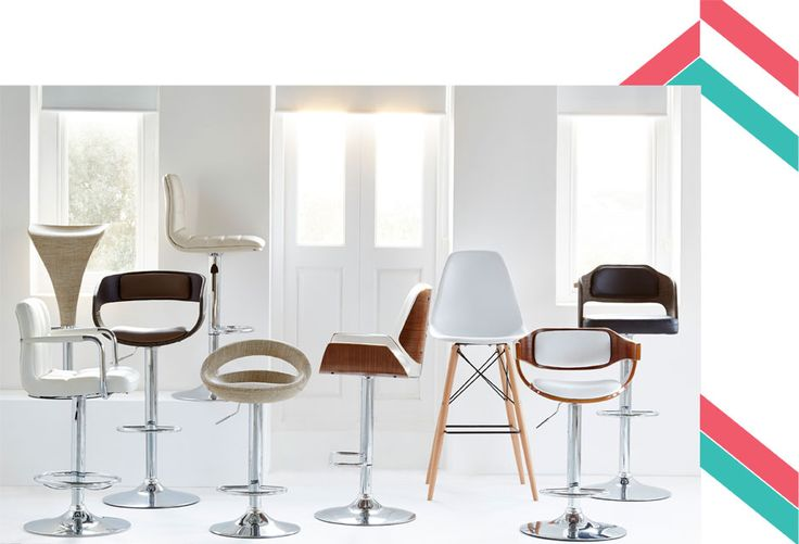 Raise the bar with @home #bar stool collection
