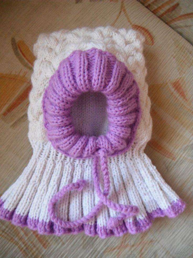 вязание детям вязание новорожденным шапка-шлем зимняя шапка вязание на заказ