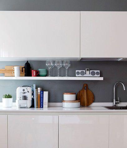 17 migliori idee su bancone da cucina su pinterest - Cucina grigio tortora ...