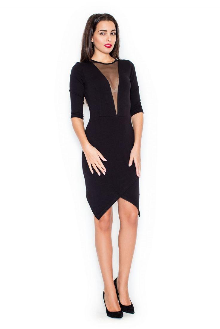 https://www.mokado.pl/Sukienka-K320-Black-p19532 #sukienka #moda #mokado #odziez #style #fashion #trendy