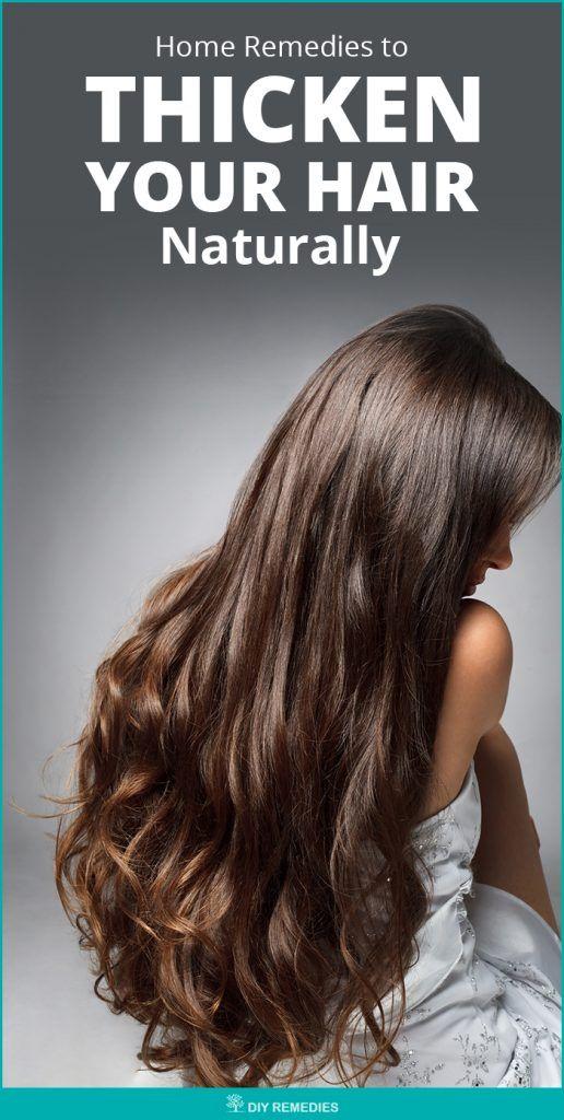 Remedios caseros para espesar su cabello naturalmente