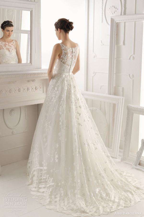Aire Barcelona 2014 Bridal Collection — Lace Wedding Dresses | Wedding Inspirasi