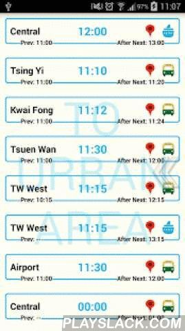 Park Island Transport Free  Android App - playslack.com ,  If you feel the app is great, just pay US$1 dollar to buy the no ads version.Crystal clean and clear bus/ferry schedules for all Park Island residents.The app provides a full Park Island / Ma Wan bus and ferry service schedules, including the latest routes for Tsuen Wan West, Tai Ho Road (TW) and Central. It also shows the correct bus and ferry schedules at public holidays, weekends and weekdays. The simplistic user interface helps…