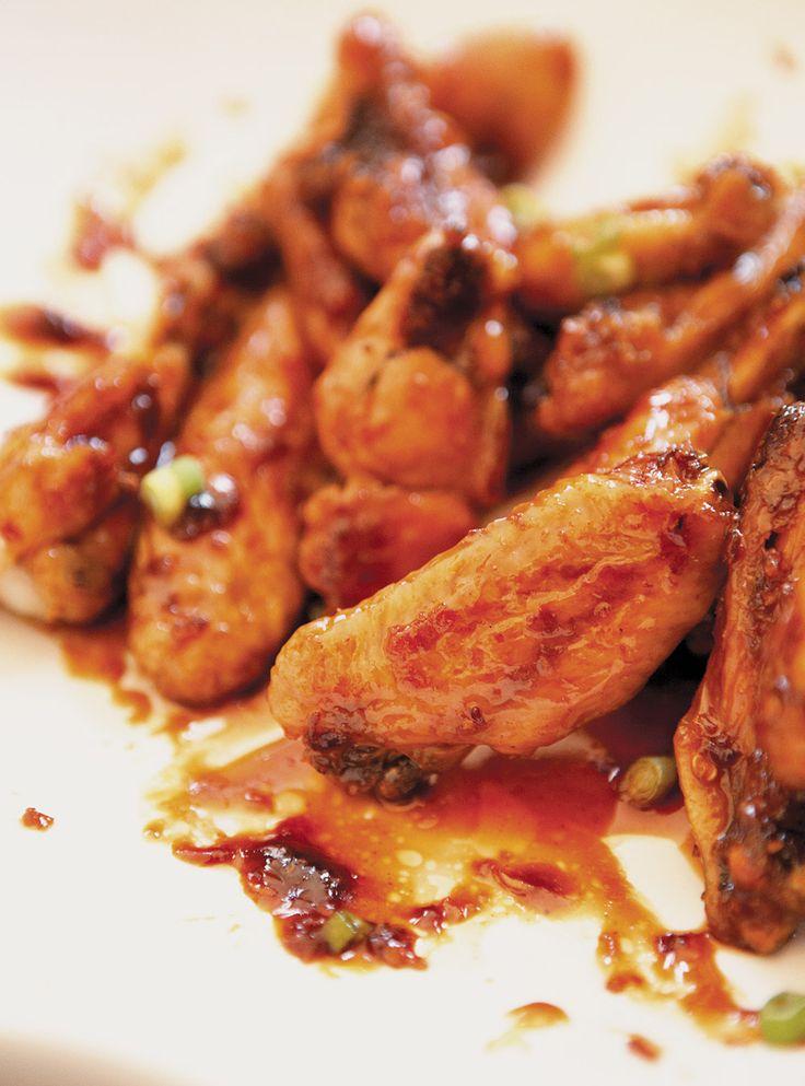 Recette de Ricardo d'ailes de poulet Général Tao