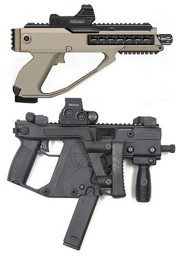 Lady Tac Arms Kriss Vector vs DSK MICRO 9mm | Lady Tac | Flickr