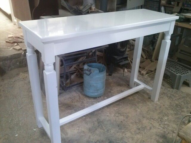 Tall table                                                             https://www.facebook.com/oikodimiourgein/