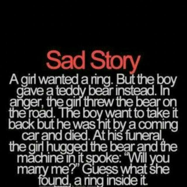 how to write a sad story So basically, i would really like to try writing a sad love story revolving around the life of a young girl (probably early 18 or late 19) and how she.