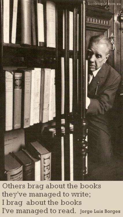 Borges. Siempre Borges.