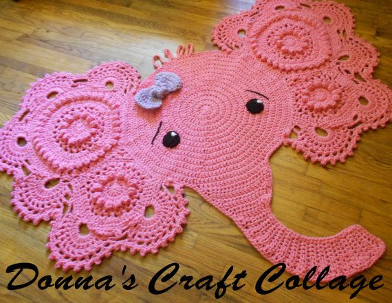 Crochet Elephant Rug : 1000+ images about Crochet on Pinterest Crochet baby, Nightmare ...