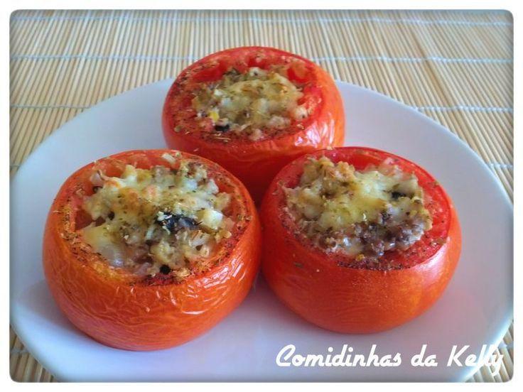 Tomates recheados com cogumelos, Receita Petitchef