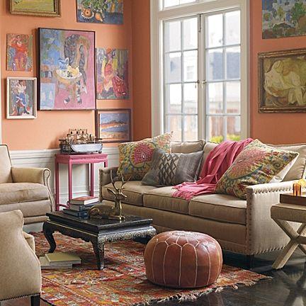 Spruce Street Sofa - Upholstered #serenaandlily