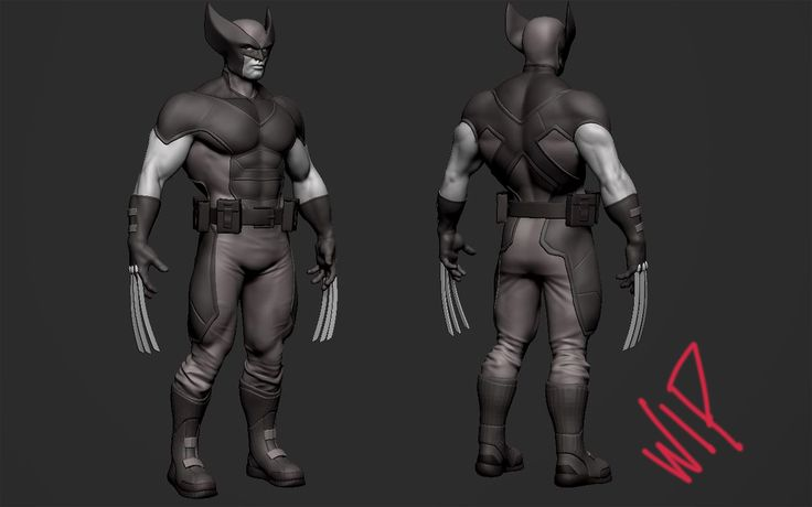ArtStation - Wolverine (Personal Project), Chad Winstone