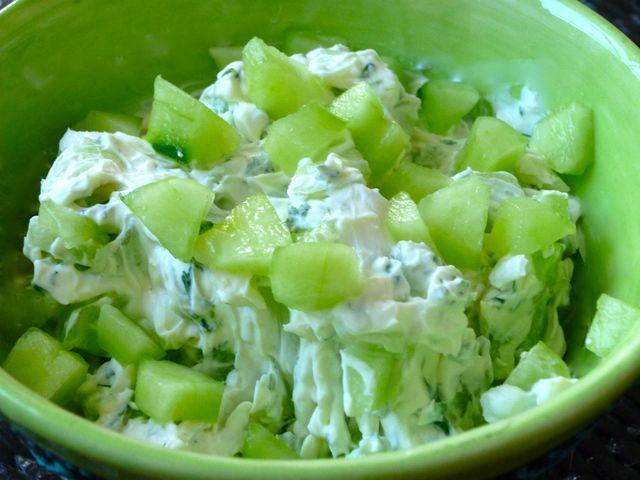 Le tzazi-kiri pour apéro gourmand :) #kiri #recette #apero #tzatziki #fromage