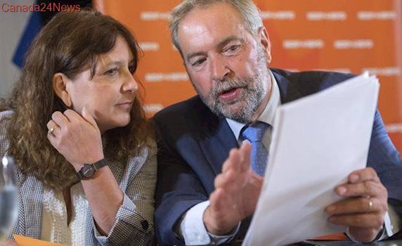 Tom Mulcair: 'I'd love to become a Stephen Lewis-esque figure'