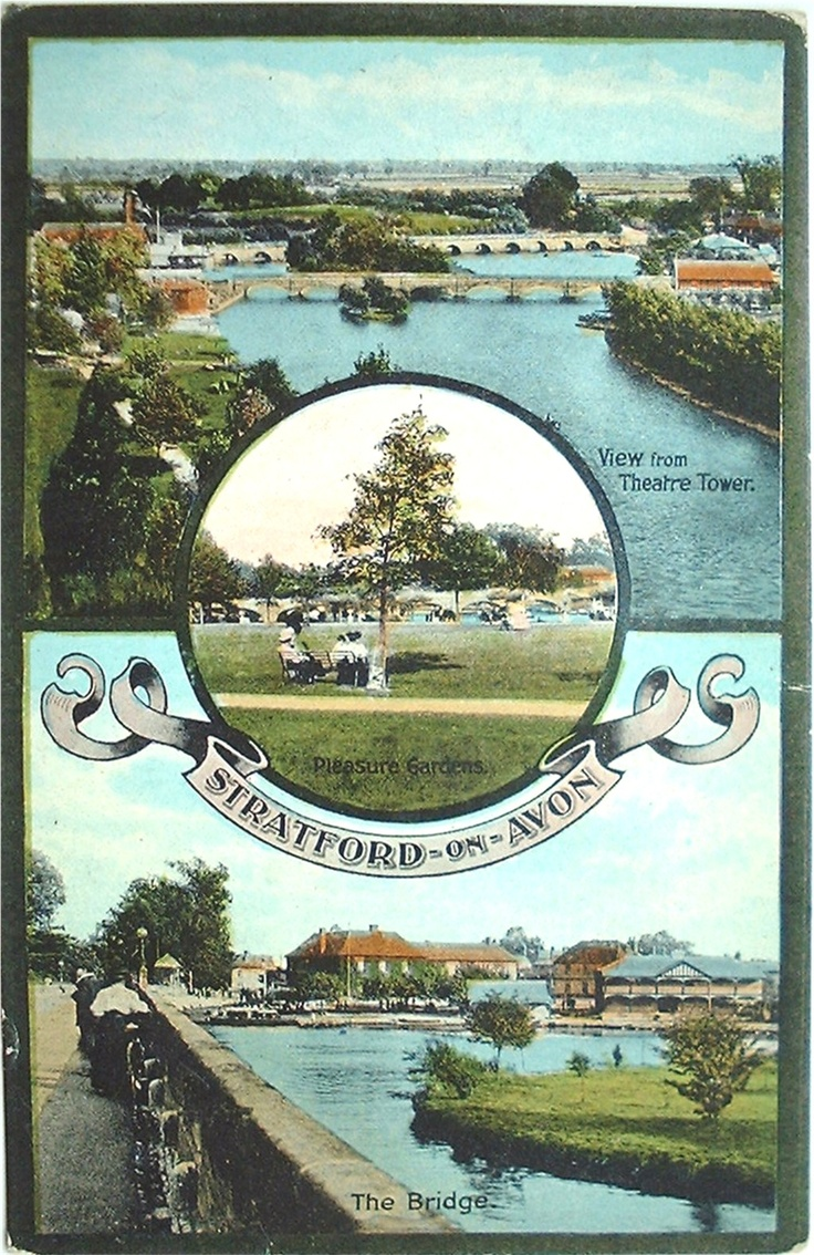 Postcards of the Past - Stratford-upon-Avon - Home Page