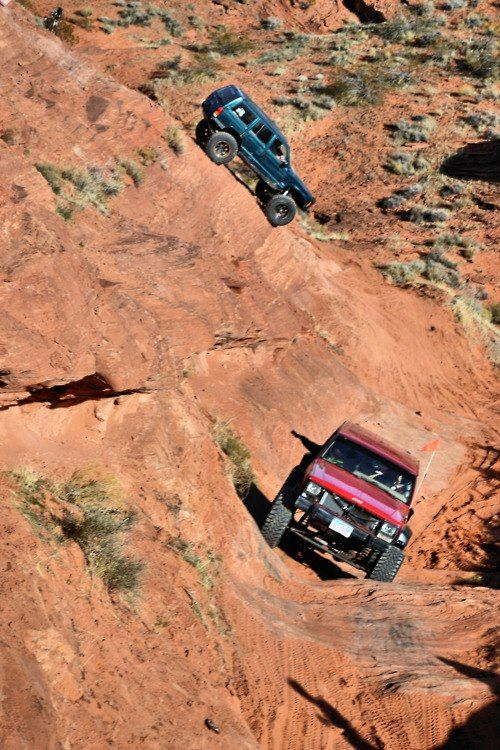 Real off road! That looks like sooo much fun!!!