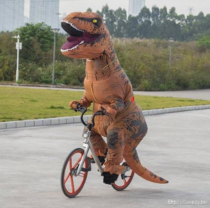 Jurassic World Inflatable T Rex Costume With Sound Yes Ladies And Gentlemen Boy Inflatable Dinosaur Costume Inflatable T Rex Costume T Rex Halloween Costume