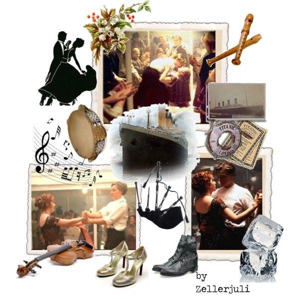 """Dance on Titanic"" by zellerjuli on Polyvore"