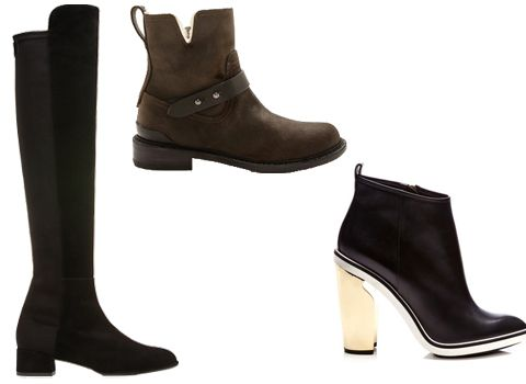 Winter Sales to Stock Up on Cold Weather Staples Now #InStyle #shoes #boots #nicholaskirkwood #rag&bone #stuartweitzman