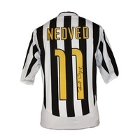 Pavel nedved signed juventus 2003-04 shirt icons £249.99