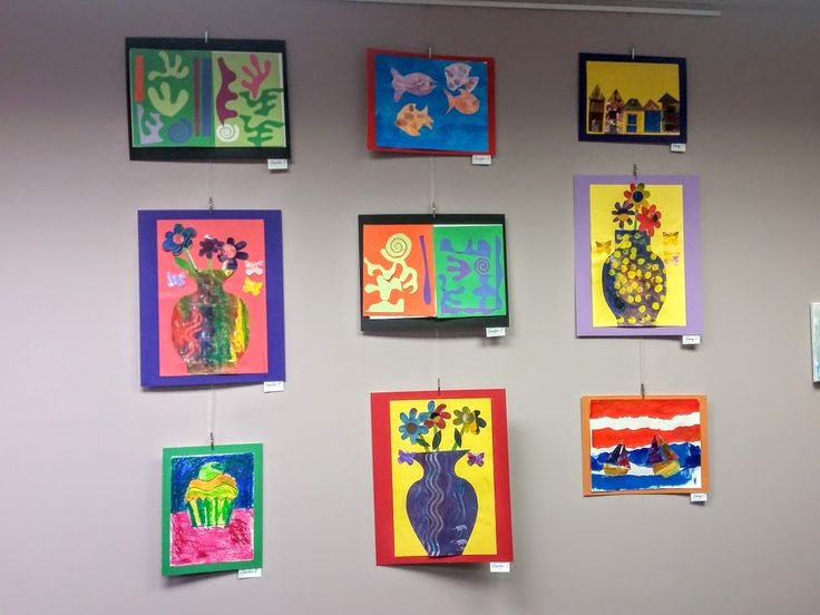 Art exhibit at Wake Enterprises, where my students with disabilities showcased their work from our 5-week residency in Fall, 2016.