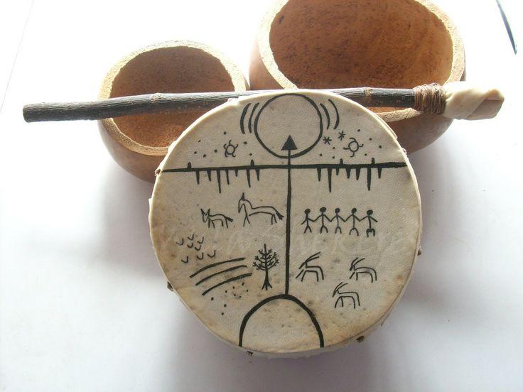 http://nuevatierra.info - Tambor kultrun que usan los indios Mapuches en las ceremonias. :)