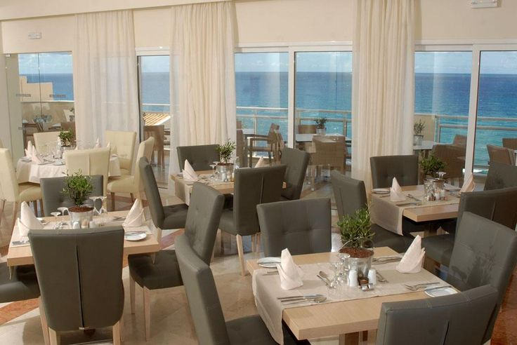 Aquis Pelekas Beach Hotel restaurant. #Greece #Corfu