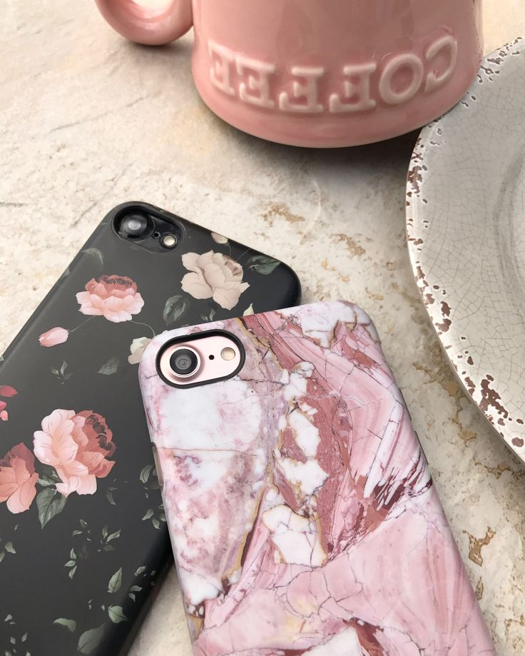 Morning coffee ☕️ Ready to start our Saturday Rose Marble & Dark Rose Case. Shop Cases for iPhone 6/6s, 6 Plus/6s Plus, 7 & 7 Plus from Elemental Cases.