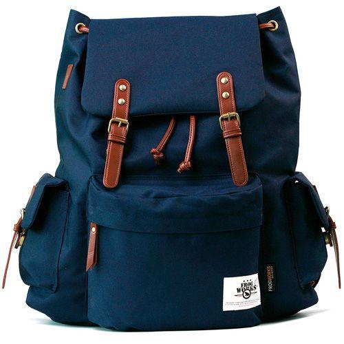 Stylish Backpacks for College Rucksack for Men School Frogworks Log