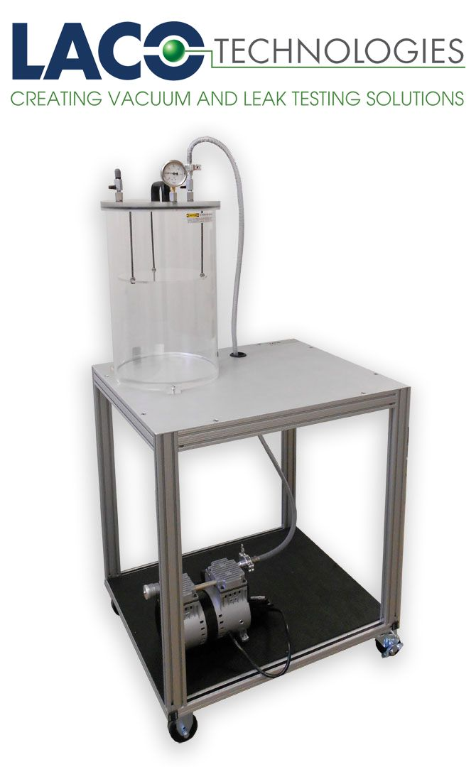 Package Testing Vacuum System In A Environment Can Be