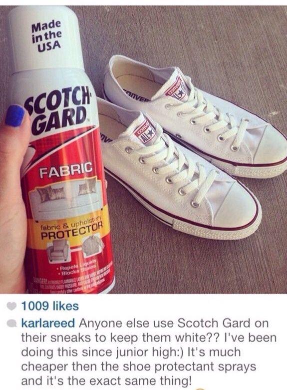 Scotch Guard for shoes
