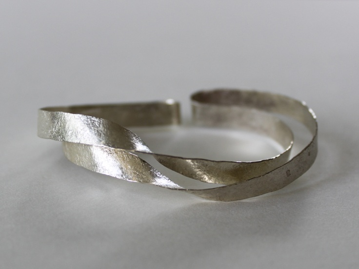 Sterling silver bracelet by Reiko Ishiyama available at Good Goods in Saugatuck Mi.