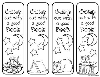 Print and use these bookmarks as a fun activity / craft for students.  Cut out, color, and add a ribbon to the top.Check out my other products in my store: Cknutson