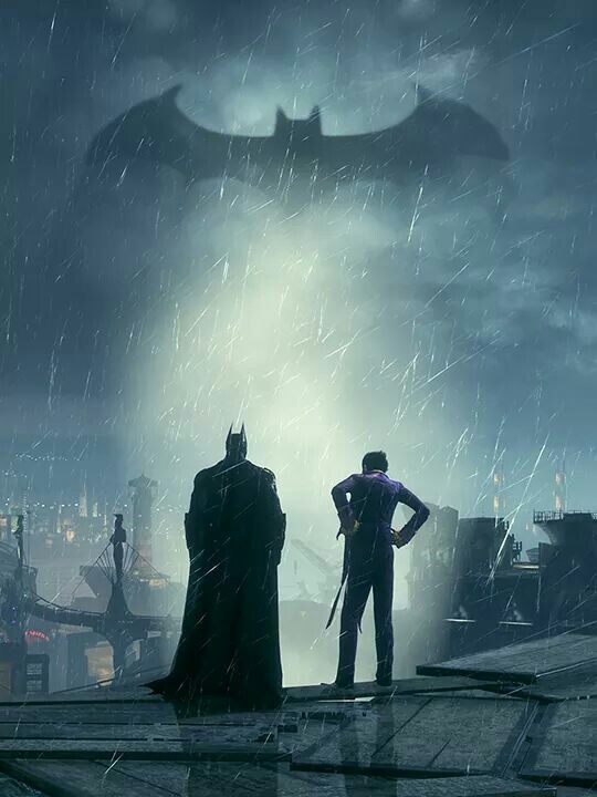 Batman and joker                                                                                                                                                                                 More