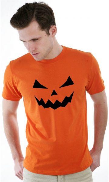 camiseta - abóbora halloween - Camisetas Era Digital