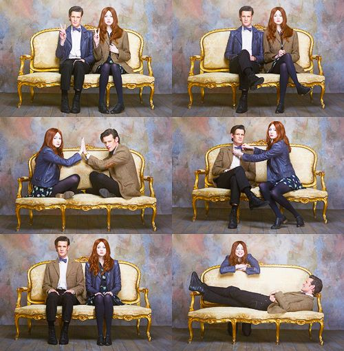 I would truly love a friendship like 11 and Amelia Pond. Where you truly trust each other, and always and forever you will bring the best out of each other.