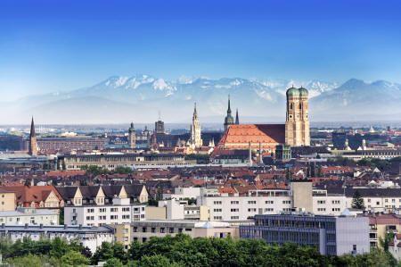 Munich. Want to see the city with an English guide? Check out http://www.bajabikes.eu/en/bike-tour-munich