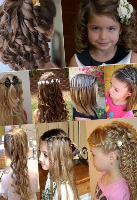 Причёска на средние волосы на выпускной в детский сад видео