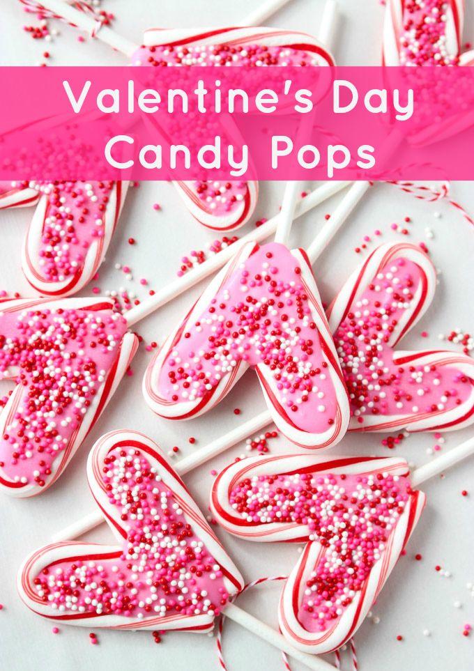 Valentine's Day Candy Suckers