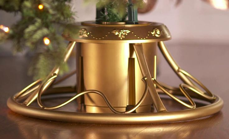 Rotating Christmas Tree Stand For Real Trees